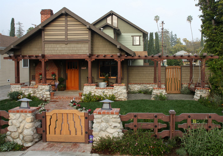 Rebuilt Craftsman with new period details
