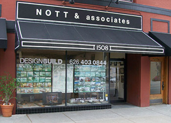 Nott & Associates Office in South Pasadena.