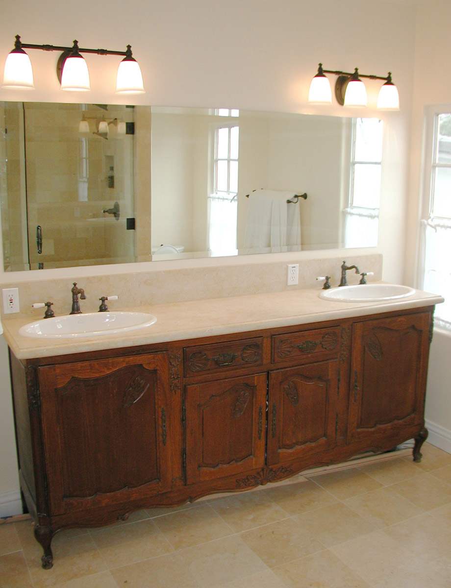 Furniture vanity for Master bath