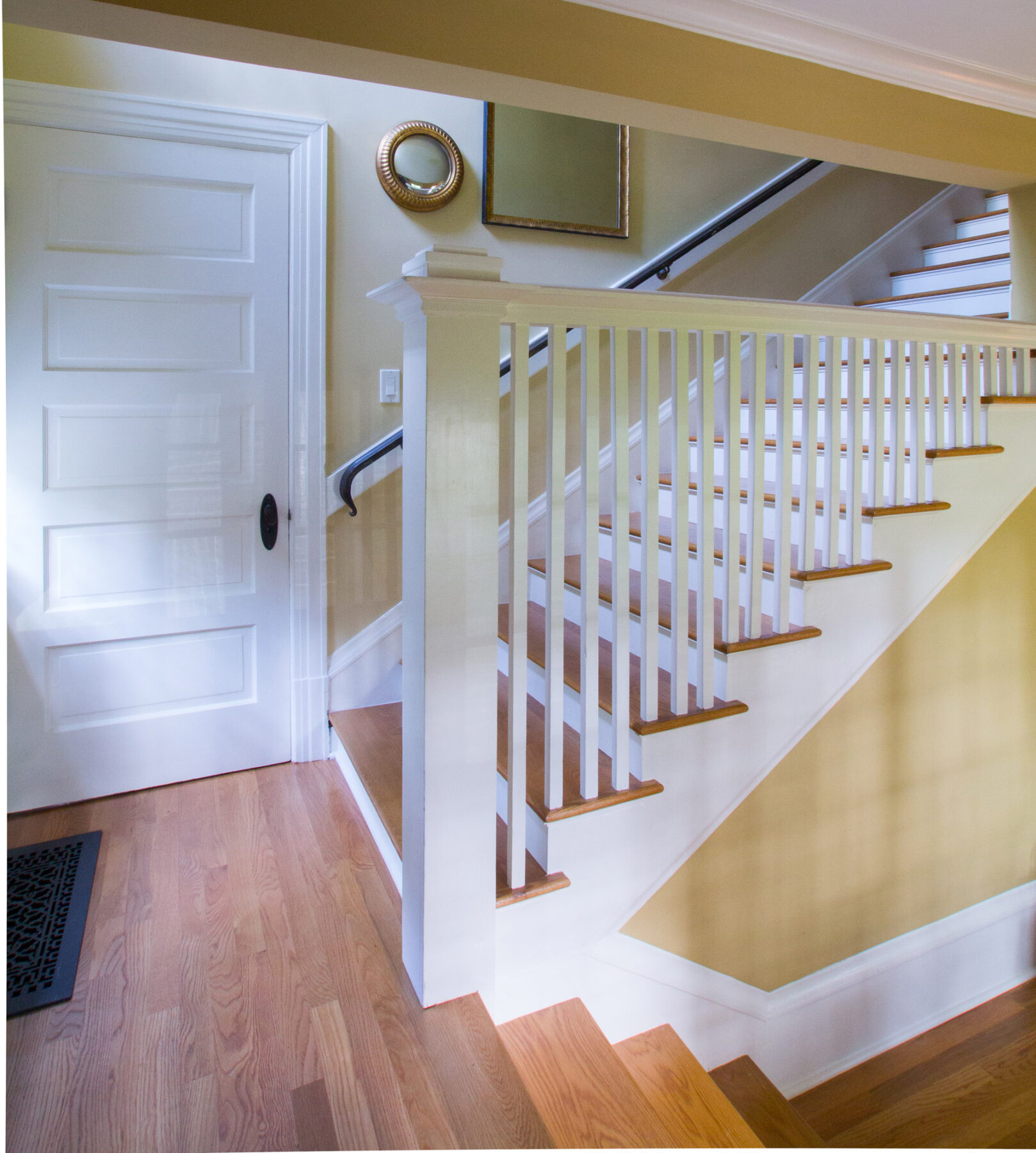 A 1903 Craftsman staircase full restoration