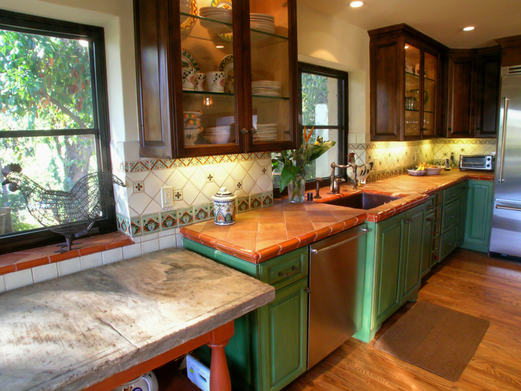 Spanish style Kitchen remodel with period features