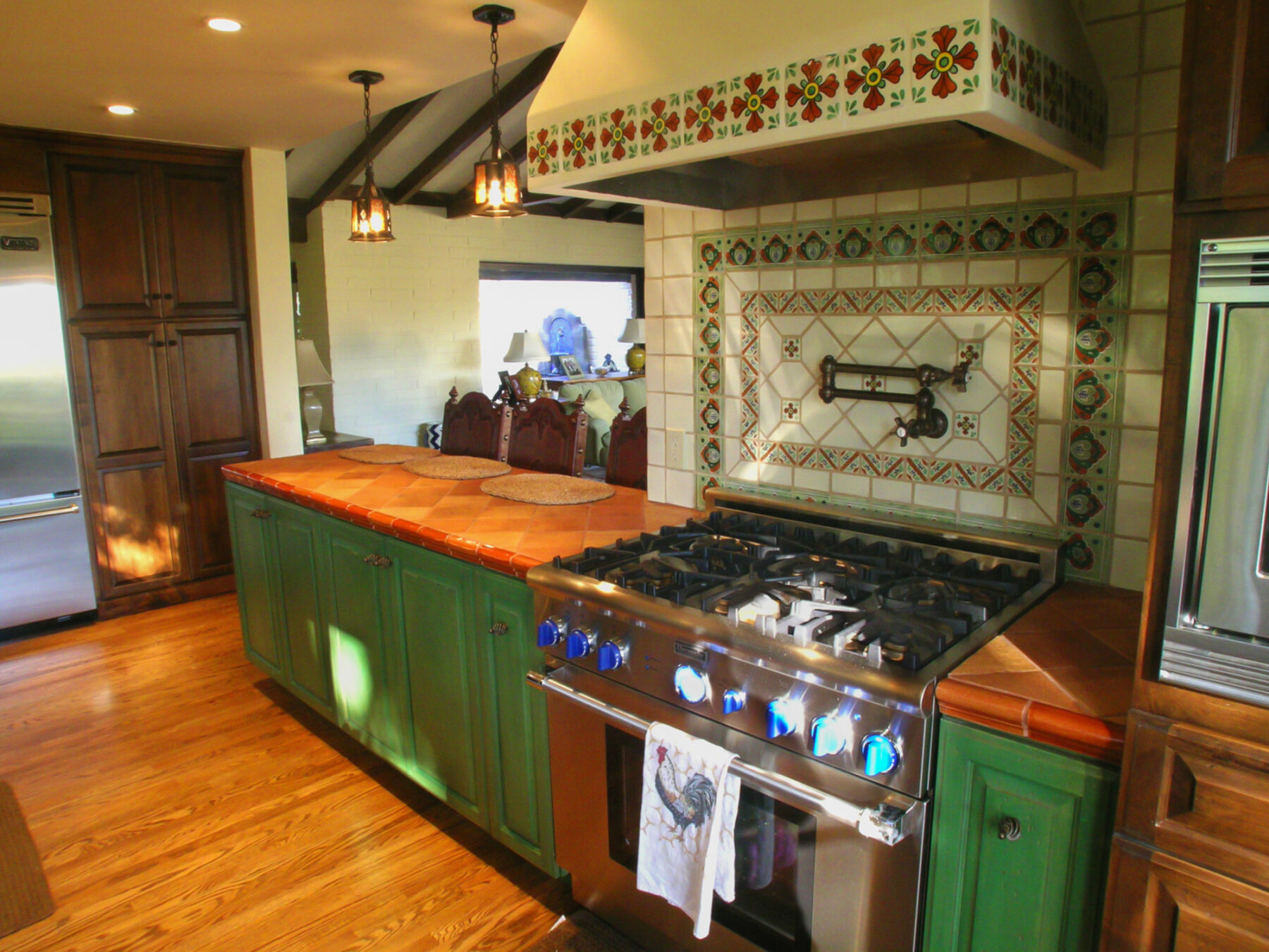 Spanish Style Kitchen Remodel With Period Tile