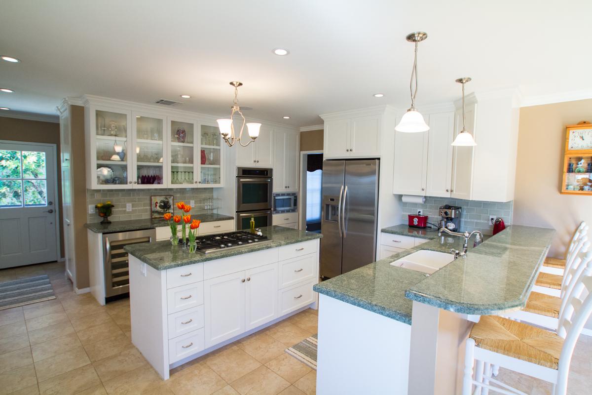 A mid-century modern Kitchen remodel