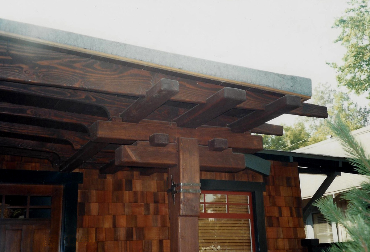 Historic Douglas fir entry details