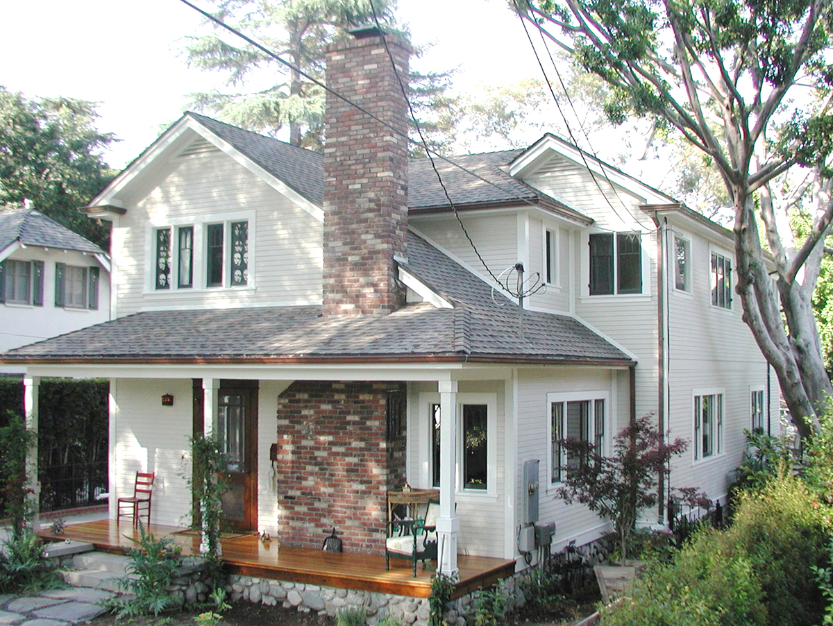 Historic Craftsman with new 2nd floor addition and period style details
