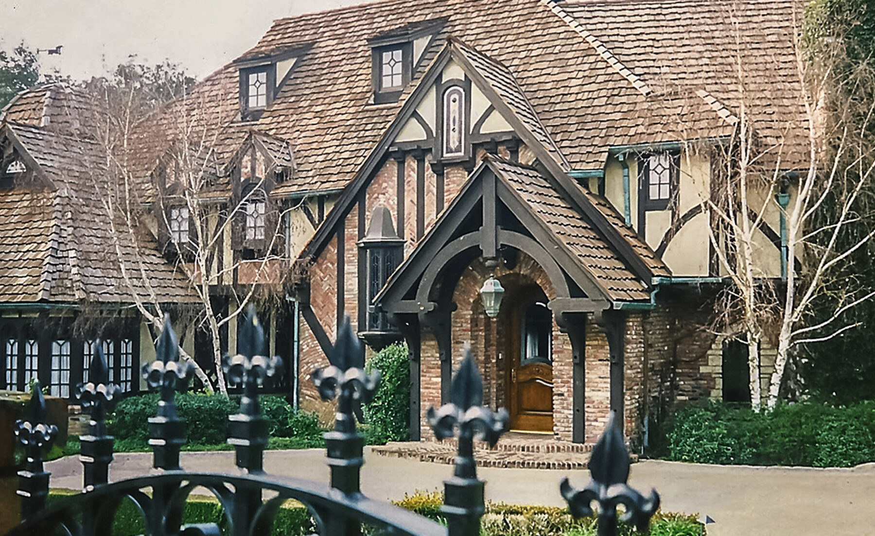 Classic Tudor Home With Ornate Detailing