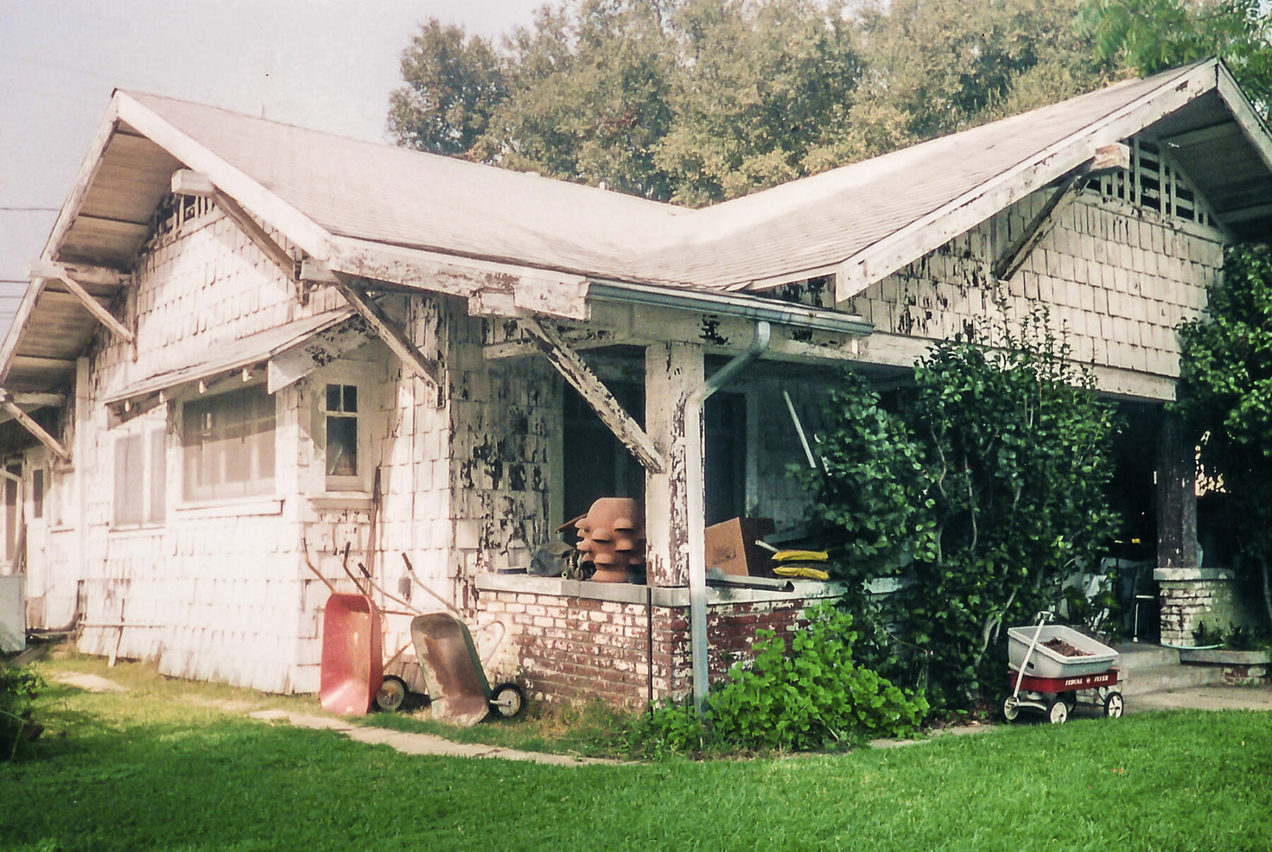 Neglected Craftsman Home