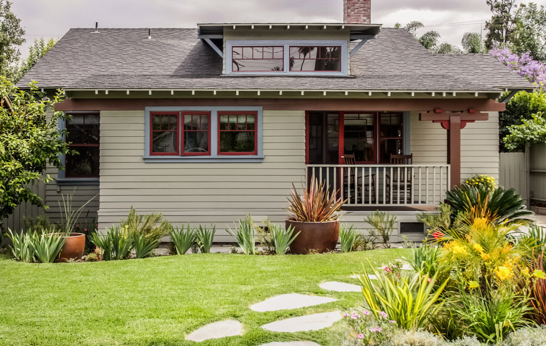 South Pasadena Craftsman Restored With Classic Details