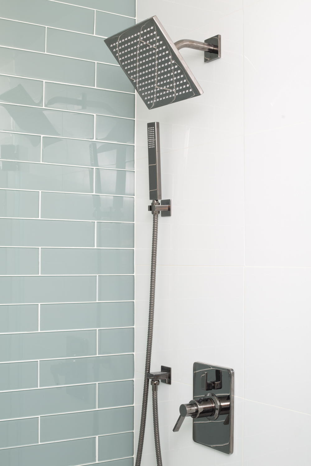 Modern Rain Shower And Hand Wand Detail Nott Associates