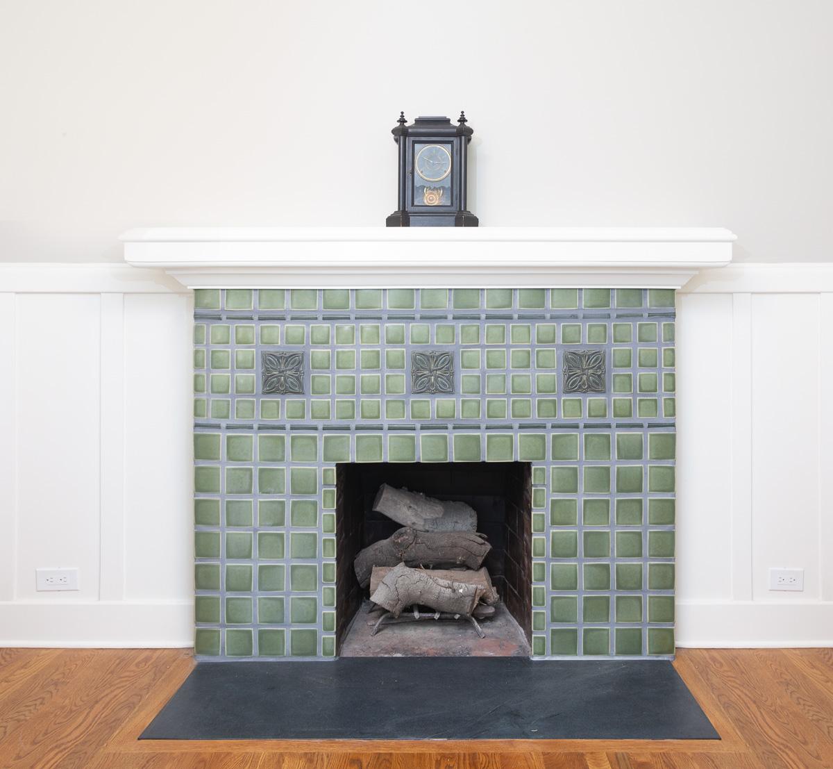 South Pasadena Bachelder Fireplace